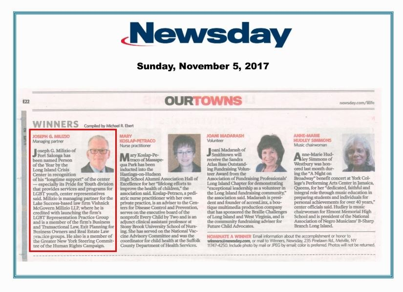 Newsday: Our Towns